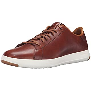 Cole Haan Men's Grandpro Tennis Fashion Sneaker, Woodbury Handstain, 7.5 M US