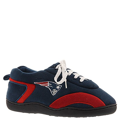 Officially Mens Feet Feet Around Slippers and New Licensed Womens Happy Patriots England NFL Comfy All tXgqEwSg
