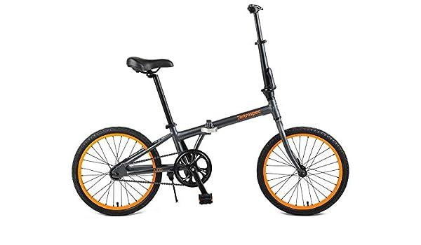 Retrospec Judd Bicicleta Plegable de una Sola Velocidad con ...
