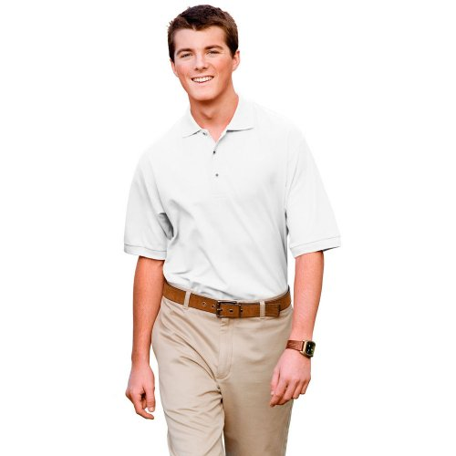 Port Authority Silk Touch Sport Shirt Extended Sizes White