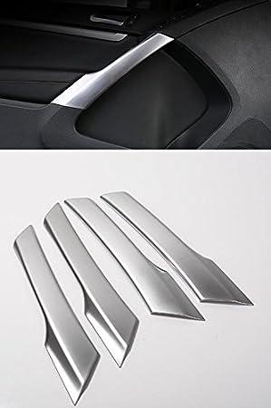 Volkswagen - Embellecedor para reposabrazos Interior (para VW Tiguan 2010-2014), Color Cromado Mate: Amazon.es: Coche y moto