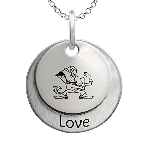 Notre Dame Fighting Irish Love Stacked Necklace
