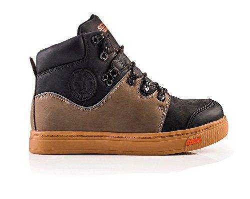 Scruffs Dual resistente al calor piel botas de seguridad trabajo entrenador