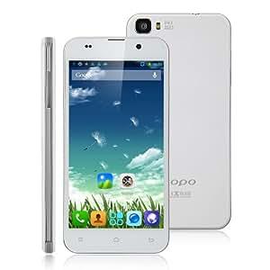 ZOPO ZP980+ Smartphone(Android 4.2.2# MTK6592# Octa Core# 3G# 5.0 Pulgada# FHD Pantalla# 32GB)Blanco