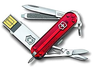 Victorinox 4.6125.TG16B - Cuchillo (30 g, 5,8 cm, 17,5 mm, 18 mm, Rojo, Acero Inoxidable)