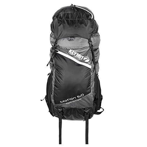 KLYMIT Motion 60 Backpack, Grey/Black, Medium/Large by Klymit