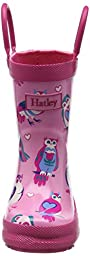 Hatley Printed Boots Rain Accessory, Happy Owls, 10 Little Girls