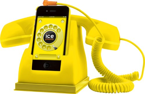 Ice-Phone IPF.YW Yellow Retro Handset