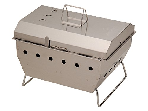 Snow Peak Iron Grill Table Barbeque Box Review