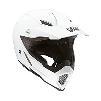AGV Helmets Casco integral 8 E2205 Solid EVO, color Blanco, talla L