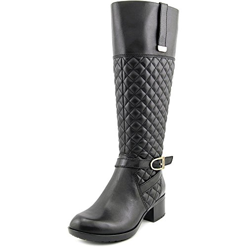 Bandolino Blushe Wide Calf Women US 5.5 Black Knee High Boot mzSq7qn