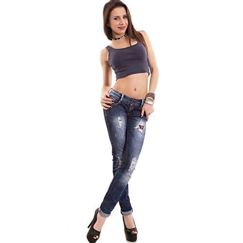 Toocool - Camiseta sin mangas - para mujer turquesa