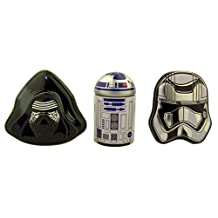 Star Wars Kylo Ren R2D2 and Captain Phasma Tin Container Set with Mints (Pack of 3)