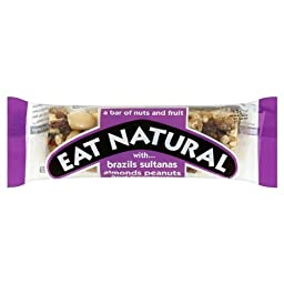 Sweets Eat Natural Fruit & Nut Bar 10X50G