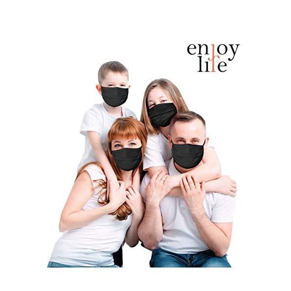 3-x-Pack-der-Gesicht-Abdeckung-waschbar-Mundschutz-aus-99-Bio-Baumwolle-fr-Mund-Nase-in-schwarz-fr-Erwachsene-Handmade-Produkt-und-Wiederverwendbare-Mund-Abdeckung