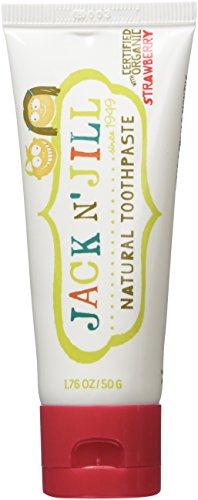Jack N' Jill Natural Toothpaste Organic 50g, Set of 3 - Stra
