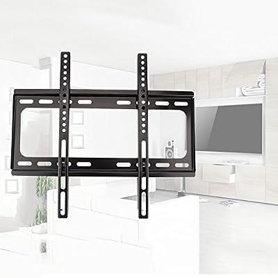 26 – 55 soporte de pared fijo negro pantalla Televisión TV PC OLED LED LCD Monitor capacidad de carga 75 kg: Amazon.es: Hogar