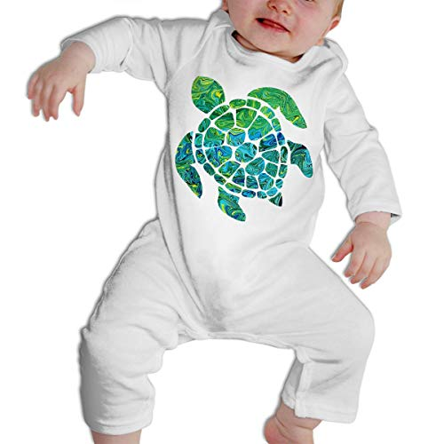 Sea Turtle Long Sleeves Bodysuit Infant Jumpsuit Equipment