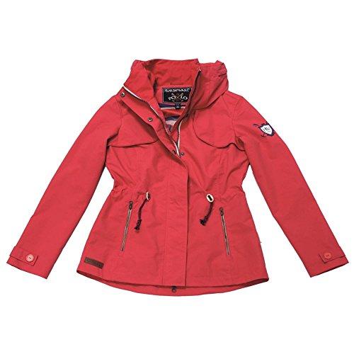 HORSEWARE Paloma donna parka Jacket–anguria rosso