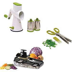 Starfrit Must Have Durable, Usable, Efficient Gadgets, Herb Scissors, Mandoline and Drum Grater