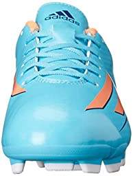 adidas Performance Women\'s F5 TRX Firm-Ground W Soccer Cleat, Samba Blue/Glow Orange/Collegiate Purple, 11 M US