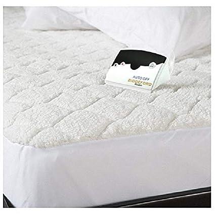 biddeford sherpa heated mattress pad Amazon.com: Biddeford 5302 9051128 100 Quilted Sherpa Electric  biddeford sherpa heated mattress pad