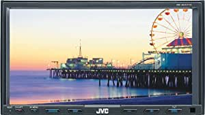 JVC KW-AVX710 7-Inch In-Dash Double-DIN CD/DVD/MP3/iPod Bluetooth-Ready Touchscreen Receiver