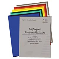 C-Line Colored Project Folders, Heavyweight Poly, Holds Materials up to 8.5 x 11 Inches, Assorted Colors, 25 per Box (62130)