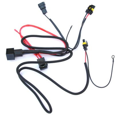1 set 40A 12V DC HID Conversion Kit relay harness 9005 9006 H1 ...