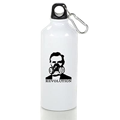 Gas Mask Model: Abraham Lincoln Gas Mask Revolution Aluminum Classic Sports Water Bottle by Creat Y :: Gas Mask Bag :: Army Gas Masks :: Best Gas Mask