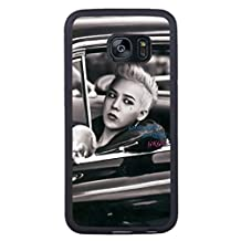 S7 Edge TPU Phone Case,G-dragon Popular Gifts Case Cover for Samsung Galaxy S7 Edge (Black)