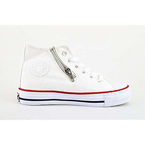 be0ea8947 El servicio durable Carrera Jeans - Zapatillas de Lona para niño ...