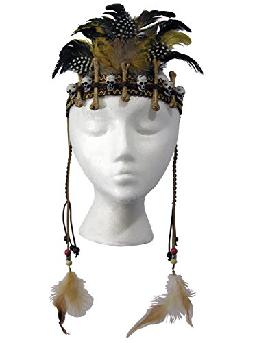 Forum Novelties 79244 Voodoo Headpiece, One