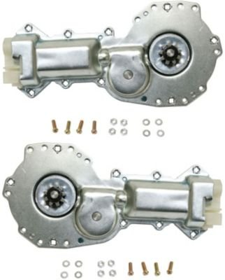 Evan Fischer Eva16672054878 Window Motor Set Of 2 Front Passenger   Driver Side Rh Lh With 9 Teeth Gear