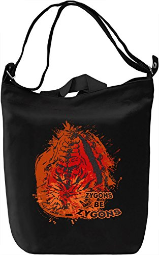 Zygons Be Zygons Borsa Giornaliera Canvas Canvas Day Bag| 100% Premium Cotton Canvas| DTG Printing|