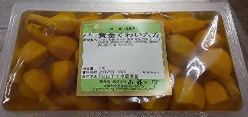 惣菜 黄金 くわい 六方 ( 味付け ) 24個×18P 業務用 冷蔵便