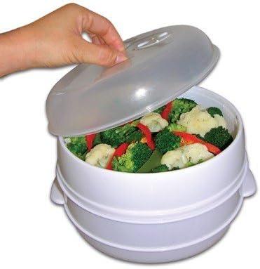 Envase para Cocinar al Vapor MicroWave Steamer: Amazon.es: Hogar
