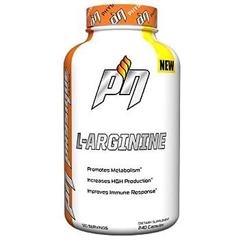 Amazon.com: PHYSIQUE Nutrición L-Arginina: Health & Personal ...
