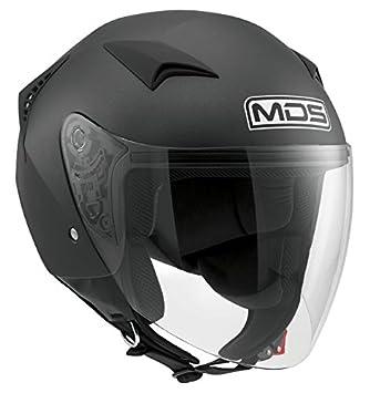 AGV Helmets Casco Jet G240 MDS E2205 Solid, color Negro Flat, talla XL