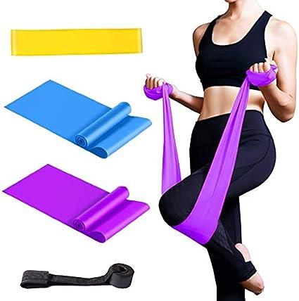 Strength Training Full Set Resistance Bands for Pilates Yoga Exercise Fitness