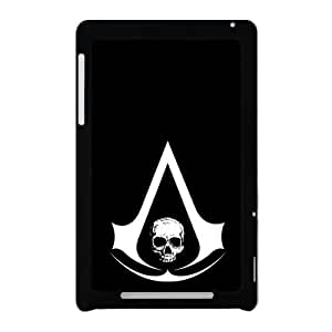 Defender Case With Nice Appearance Assassin's Creed Logo Google Nexus 7 Shell Case Cover (Laser Technology)