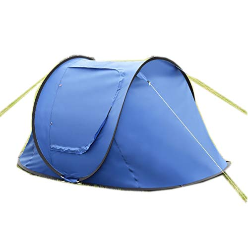 CWY 2-3 Persons Waterproof Camping Tent Dark Blue Only by eight24hours