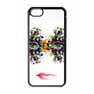 Iphone 5C Eyes Phone Back Case Personalized Art Print Design Hard Shell Protection YT089930