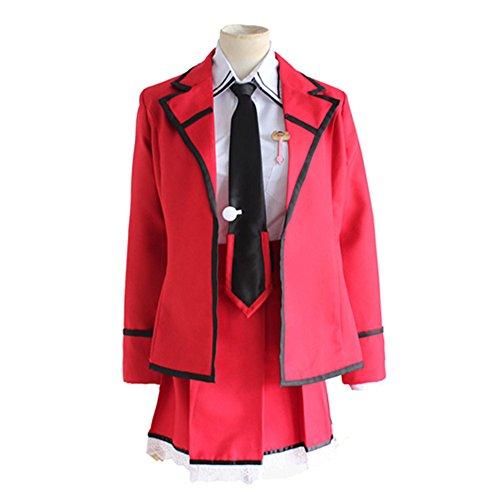 Kotori Itsuka Costume (Mtxc Women's Date A Live Cosplay costume Kotori Itsuka Uniform Size X-Large Red)