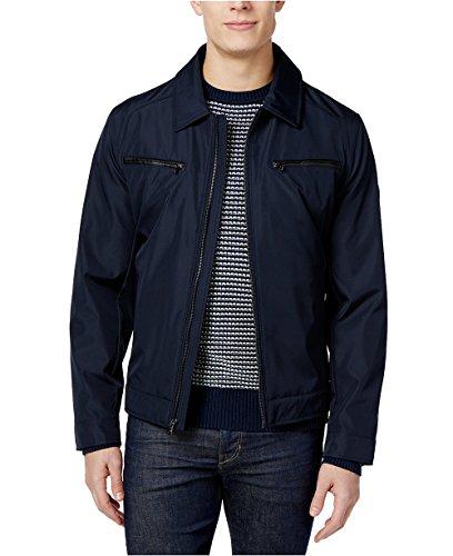MICHAEL Michael Kors Men's Big & Tall Hipster Jacket (Navy, Large - Kors Sale Men Michael