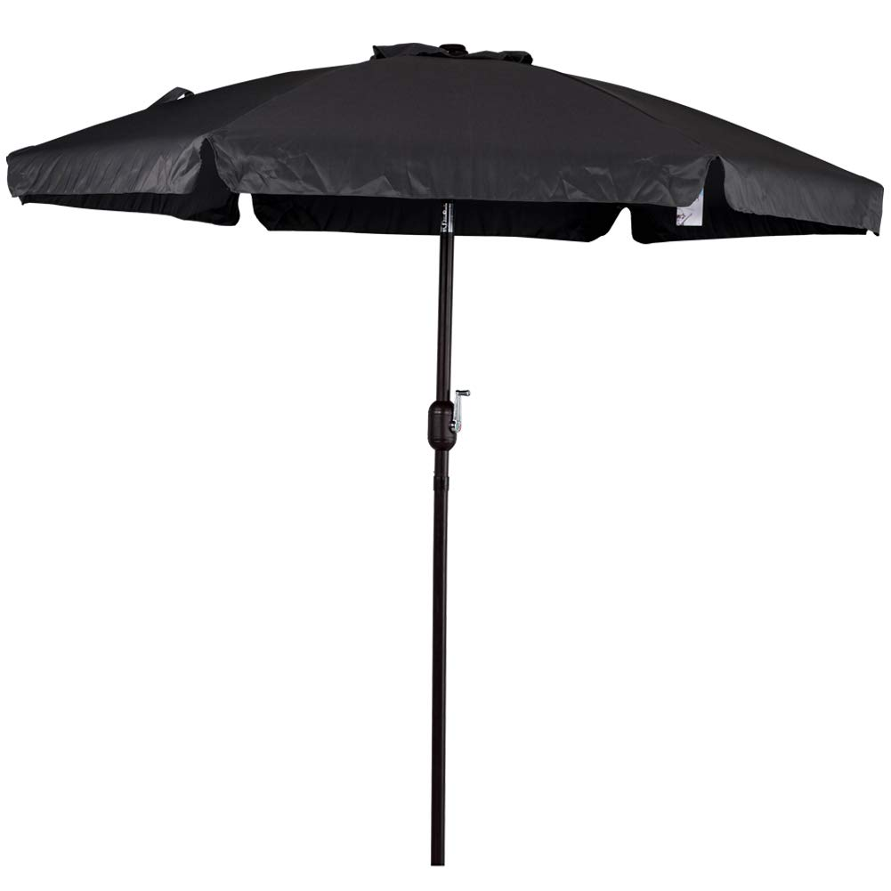 Amazon Com Sundale Outdoor 7 5 Feet Aluminum Beach Drape Umbrella