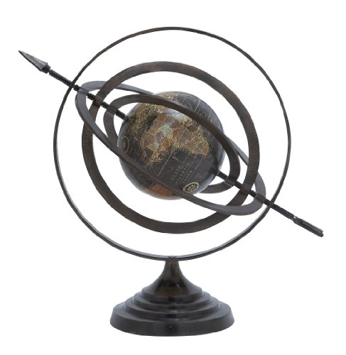 Deco 79 Aluminum Globe, 20-Inch by 18-Inch by Deco 79