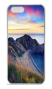 Brian114 5s Case, iPhone 5 5s Case - Fashion Style Lake 5 Clear PC Hard Cover Case for iPhone 5 5s