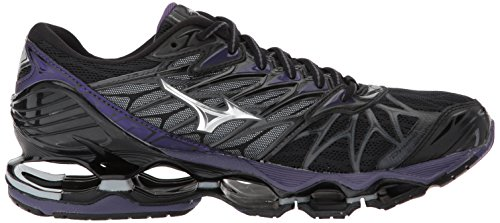 Silver Prophecy Wave Running Shoe 7 Mizuno Women's Black 8Z0xEO