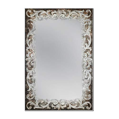 Head West Auburn Tapestry Wall, 23.5 inches x 35.5 inches Mirror, -